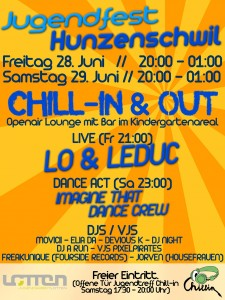 Flyer Chill-in & Out Lounge
