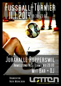 Flyer Fussball Turnier