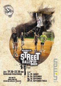 Streetball Turnier Flyer 2015