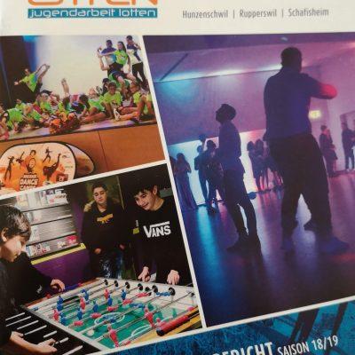 Der neue Jahresbericht 18/19 ist da!