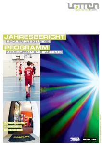 Cover Jahresberich 2013/2014